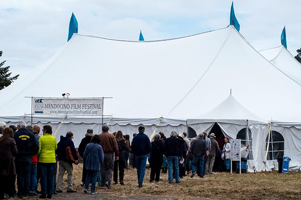 The main festival venue is the Festival Tent across from The Hill House. & Venues - Mendocino Film Festival