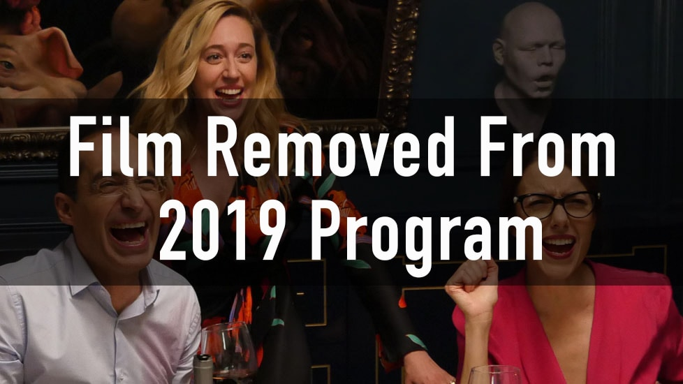 Film Removed From 2019 Program